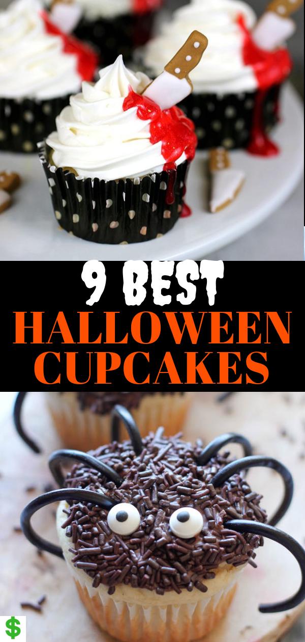 9 Best Halloween Cupcakes