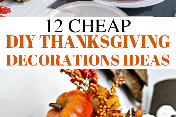 Cheap diy thanksgiving decorations ideas. Looking for dollar store DIY Thanksgiving decorations ideas? In this post, I will show you 12 ULTIMATE DIY dollar store Thanksgiving decorations ideas that are so cheap and easy. These DIY Thanksgiving decor ideas must be pinned because they will wow your guests #thanksgiving #DIY #decor #homedecor #thanksgivingdecor #dollarstore #crafts #cheap #cheapdecor