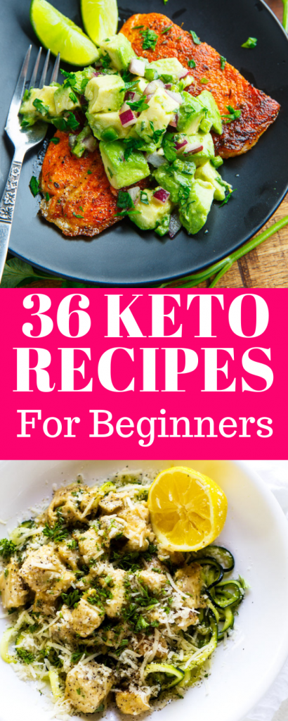 36 Keto recipes for beginners, keto diet ideas, keto diet recipes for beginners. Looking to taste the BEST keto recipes and lose weight? These are the ULTIMATE 36 keto recipes for beginners. Your entire family will love these ketogenic diet recipes. These keto recipes are healthy and delicious and you will lose weight too. #ketorecipes #keto #ketodietideas #ketodinner #dinnerrecipes #dinner #ketogenic #healthy #recipes #healthyrecipes #lowcarb #weightloss