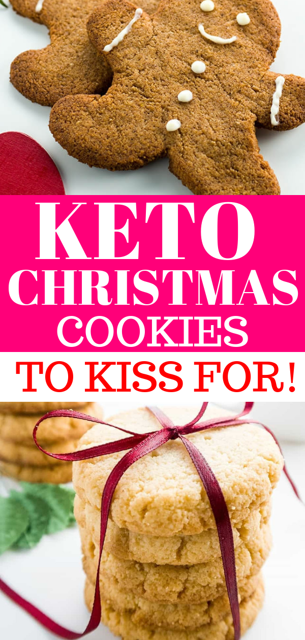 7 Keto Christmas Cookies to Kiss For!