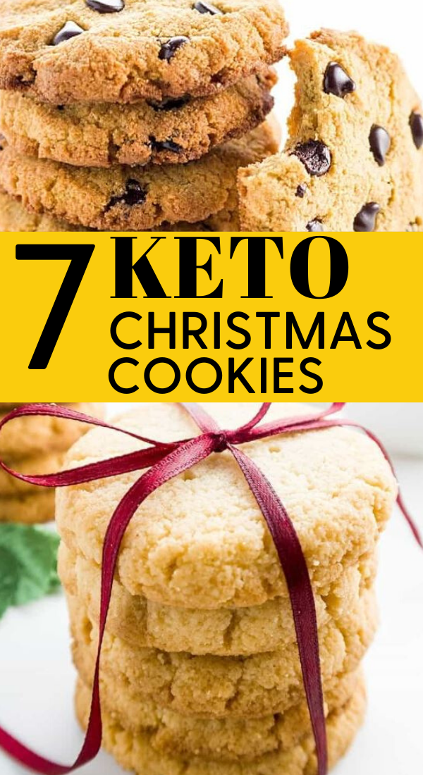 7 ultimate keto christmas cookies that taste super delicious. These ultimate keto christmas cookies will delight the whole family and guest during this holiday season. You must pin these Christmas dessert keto cookies to enjoy. These are the BEST keto cookies for the Christmas holidays #keto #cookies #ketocookies #christmas #christmascookies #holidaytreats #desserts #recipes #ketocookiesideas
