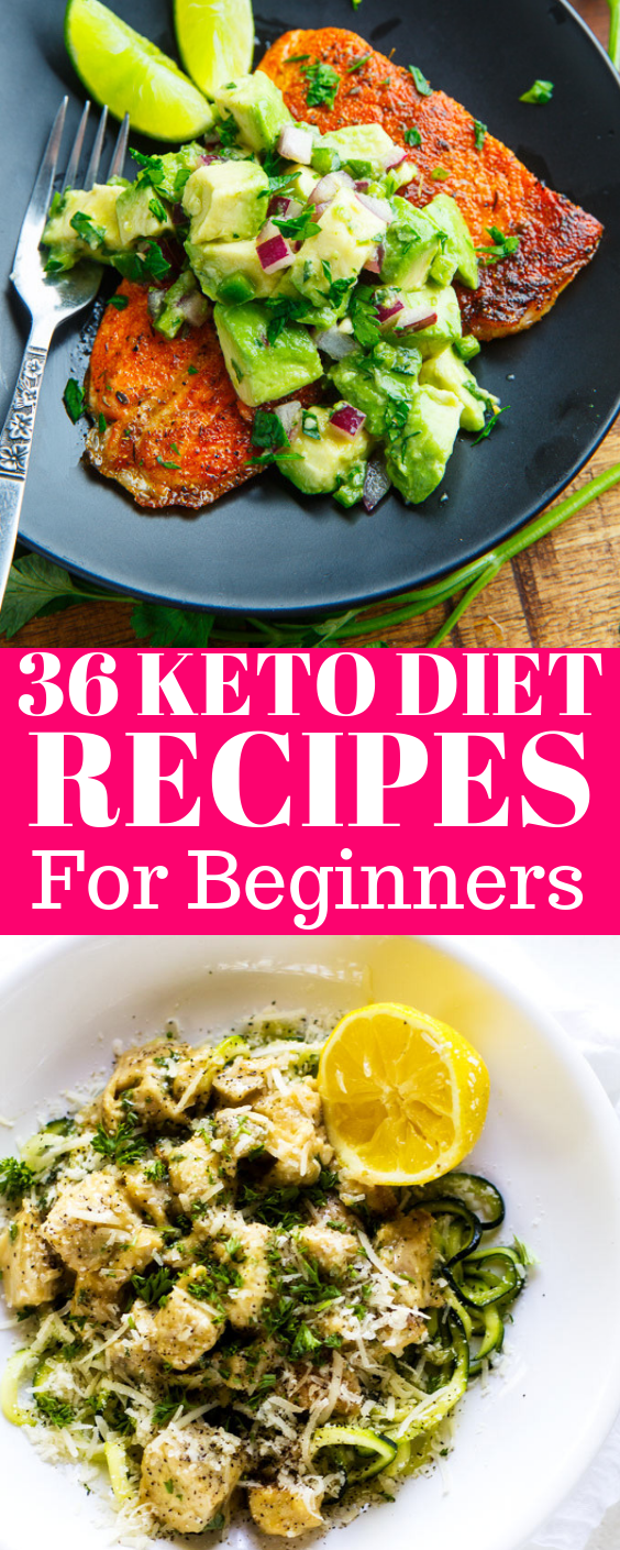 36 Ultimate Keto Diet Ideas for Beginners