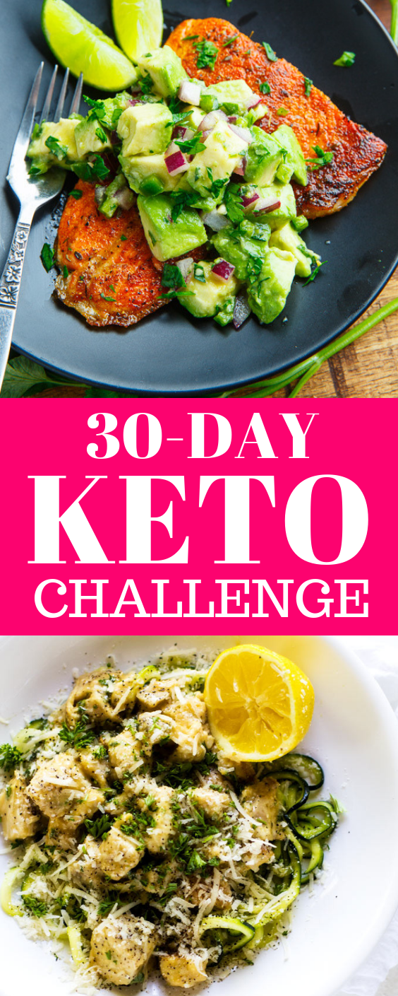 30-Day Keto Diet Challenge: How to Lose Weight Faster on Keto Diet