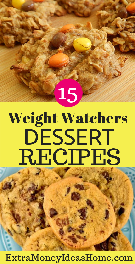15 Weight Watchers Dessert Recipes for Faster Weight Loss