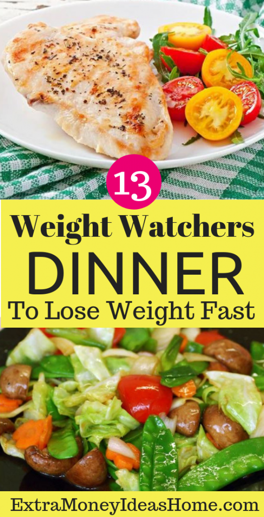 Weight watchers dinner. 13 weight watchers dinner recipes. Looking for DELICIOUS weight watchers dinner recipes? This post shows you HOW to taste the BEST weight watchers dinner recipes, meals, weight watchers recipes, weight watchers freestyle, weight watchers desserts, and much more healthy recipes. Lose weight faster with these TASTY weight watchers meals. #weightwatchers #dinnerrecipes #recipes #weightwatchersrecipes #weightwatchersfreestyle #weightwatchersdiet #loseweight #weightloss #healthy #healthyrecipes #dinner