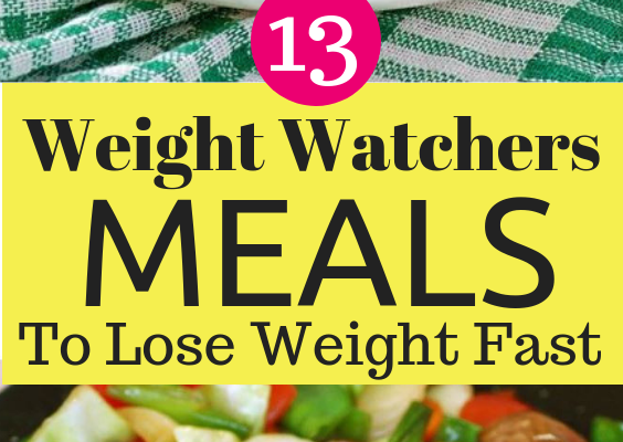 13 weight watchers meals