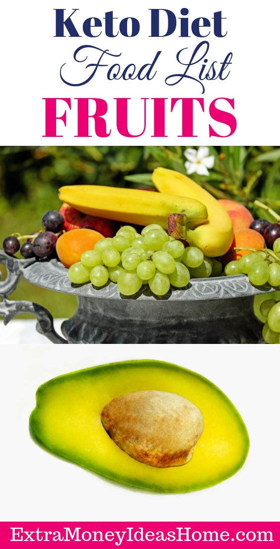 keto diet food list fruits