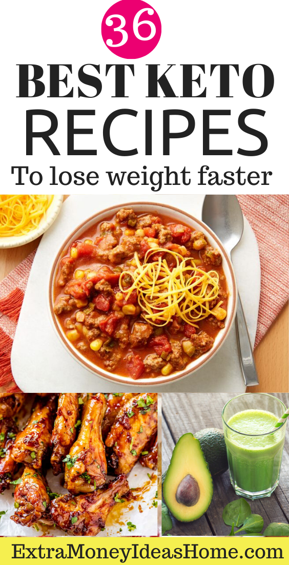36 Easy Keto Recipes for Faster Weight Loss