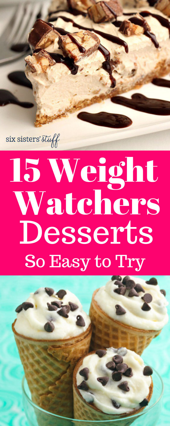 15 Best Weight Watchers Desserts