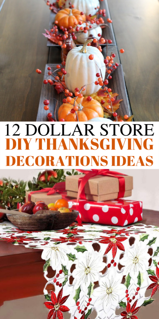 12 Dollar store DIY thanksgiving decorations ideas. Looking for dollar store DIY Thanksgiving decorations ideas? In this post, I will show you 12 ULTIMATE DIY dollar store Thanksgiving decorations ideas that are so cheap and easy. These DIY Thanksgiving decor ideas must be pinned because they will wow your guests #thanksgiving #DIY #decor #homedecor #thanksgivingdecor #dollarstore #crafts #cheap #cheapdecor