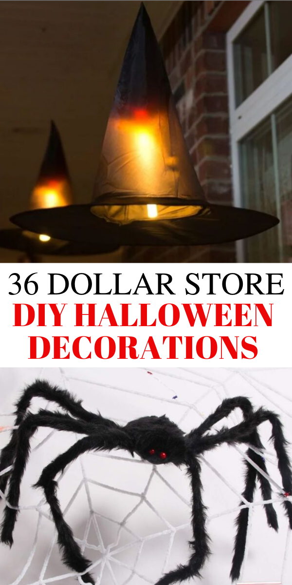 36 Best DIY Halloween decorations for 2019, scary Halloween home decorations, dollar store Halloween decorations, cheap Halloween decorations, Halloween home decorations. These ultimate DIY Halloween decorations will blow you away. The ultimate dollar store DIY Halloween decorations that are super scary and cheap. #halloween #diy #scary #spooky #halloweendecorations #homedecor #halloweendiy #halloweenideas #2019 #2019halloween