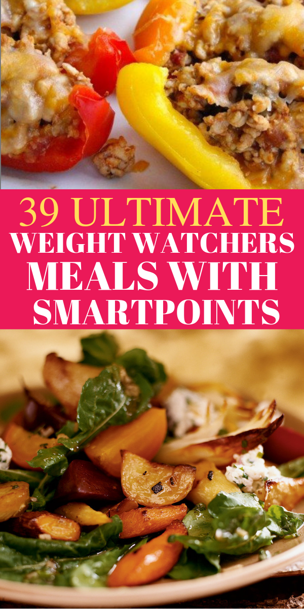39 Weight Watchers Meals with Smart Points