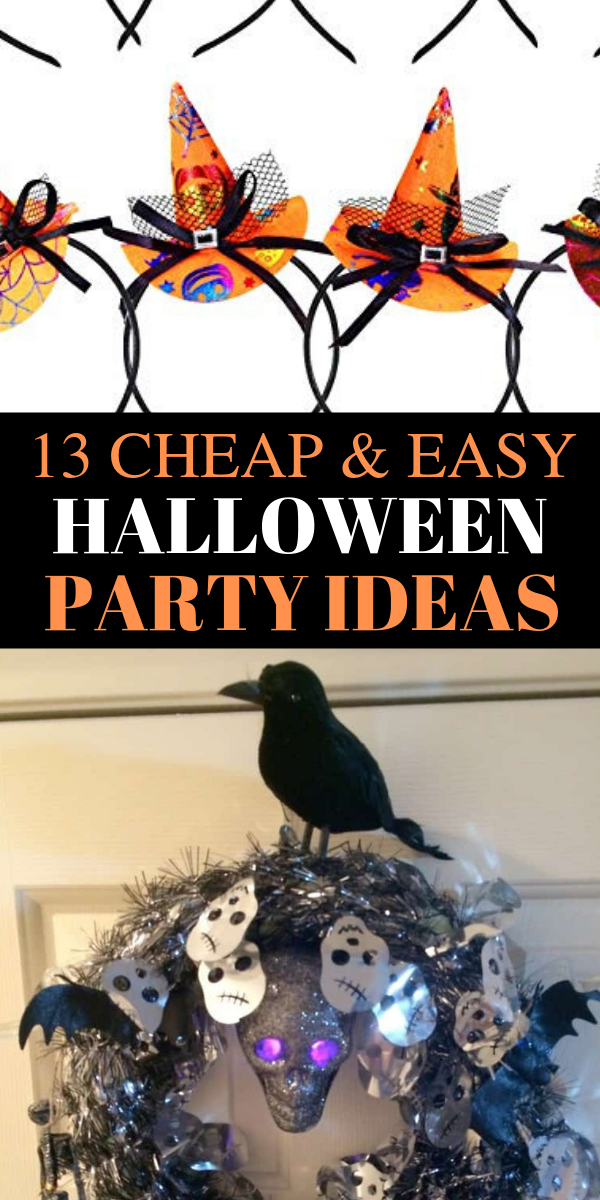 13 cheap and easy halloween party ideas, Halloween party ideas, easy Halloween party ideas, dollar store Halloween party ideas, cheap and easy Halloween party ideas - Looking for the MOST SCARY and fun Halloween party ideas? Pin these awesome Halloween party ideas beacuse they are so easy and CHEAP to craft. And you can DIY it. #halloween #party #dollarstore #cheap #DIY #halloweenpartyideas #halloweenparty #spooky #fall #fallparties #scary