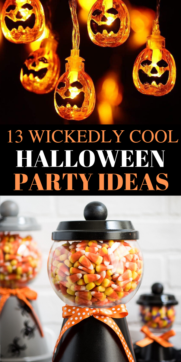 13 Easy Dollar Store Halloween Party Ideas