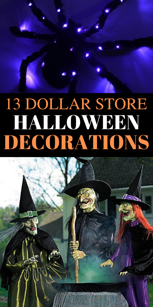 13 dollar store Halloween decorations ideas, fall halloween decorations DIY, outdoor halloween decorations DIY ideas - Looking for the BEST outdoor Halloween decorations ideas? In this post, I will SHOW you stunning outdoor Halloween decorations DIY ideas, simple DIY Halloween decorations ideas, cheap and easy outdoor Halloween decorations DIY ideas, Fall Halloween decorations DIY ideas, best outdoor Halloween ideas, dollar store Halloween decor ideas, and more. #halloween #diy #decor #halloweendecorations #DIYideas #homedecor #Halloweendecor #falldecor #falldecorations