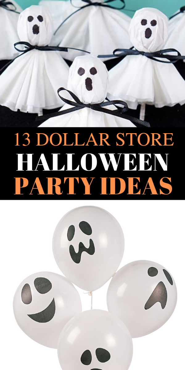 13 Easy dollar store Halloween party ideas, Halloween party ideas, easy Halloween party ideas, dollar store Halloween party ideas, cheap and easy Halloween party ideas - Looking for the MOST SCARY and fun Halloween party ideas? Pin these awesome Halloween party ideas beacuse they are so easy and CHEAP to craft. And you can DIY it. #halloween #party #dollarstore #cheap #DIY #halloweenpartyideas #halloweenparty #spooky #fall #fallparties #scary