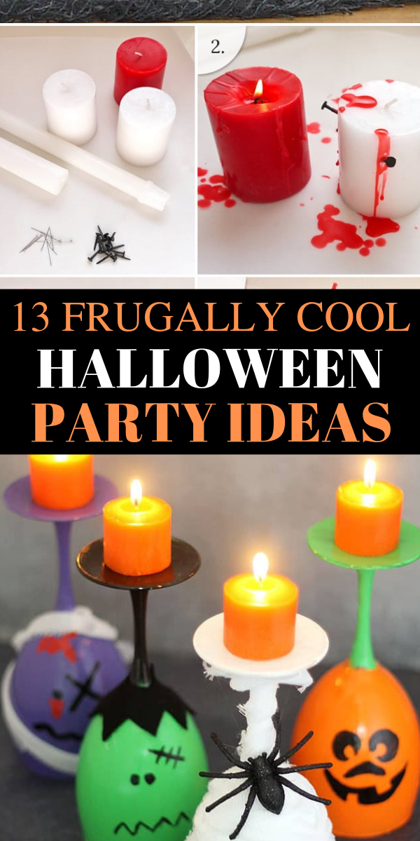 13 Frugally easy halloween party ideas, Halloween party ideas, easy Halloween party ideas, dollar store Halloween party ideas, cheap and easy Halloween party ideas - Looking for the MOST SCARY and fun Halloween party ideas? Pin these awesome Halloween party ideas beacuse they are so easy and CHEAP to craft. And you can DIY it. #halloween #party #dollarstore #cheap #DIY #halloweenpartyideas #halloweenparty #spooky #fall #fallparties #scary