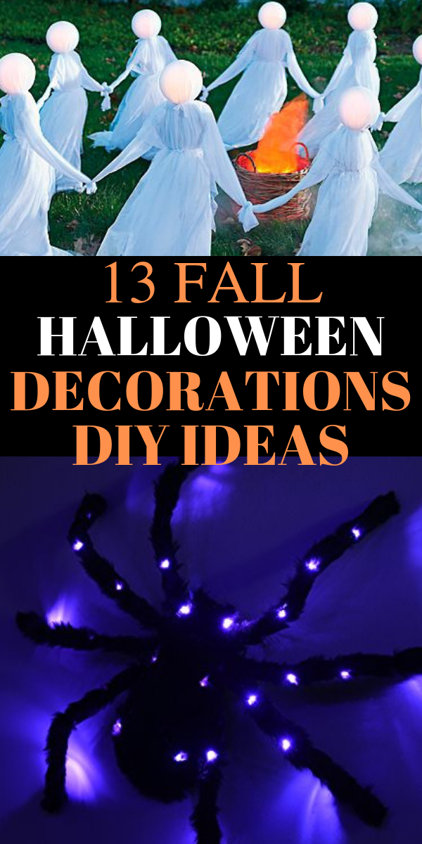 fall halloween decorations DIY, outdoor halloween decorations DIY ideas - Looking for the BEST outdoor Halloween decorations ideas? In this post, I will SHOW you stunning outdoor Halloween decorations DIY ideas, simple DIY Halloween decorations ideas, cheap and easy outdoor Halloween decorations DIY ideas, Fall Halloween decorations DIY ideas, best outdoor Halloween ideas, dollar store Halloween decor ideas, and more. #halloween #diy #decor #halloweendecorations #DIYideas #homedecor #Halloweendecor #falldecor #falldecorations