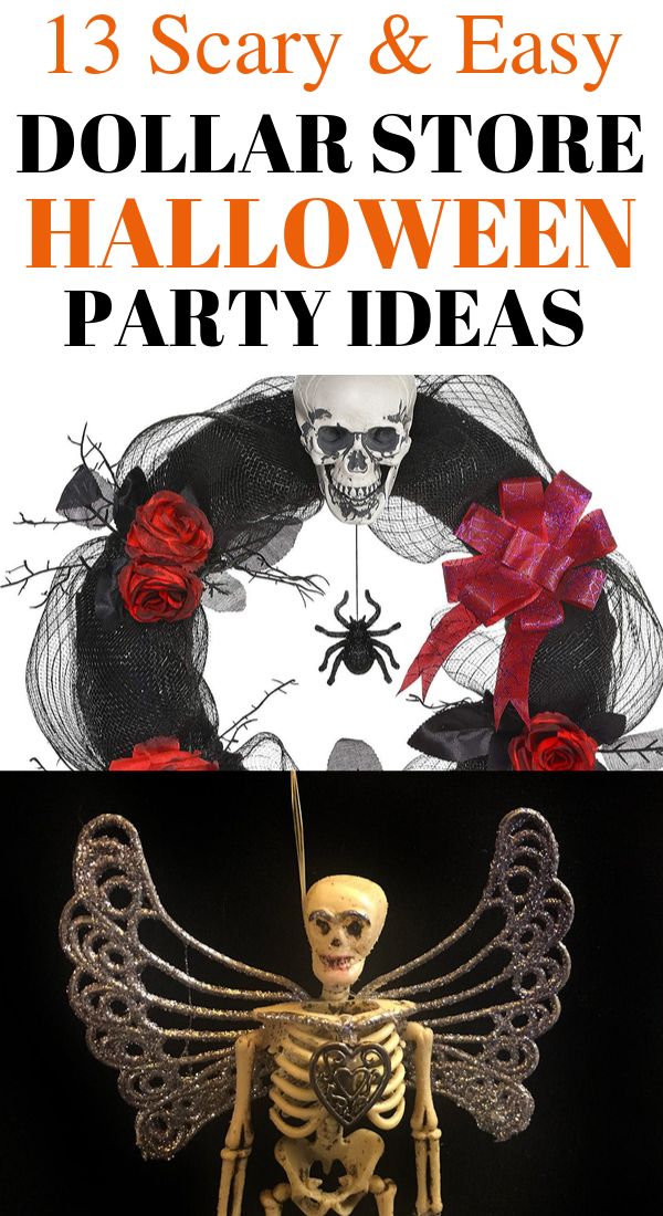 13 Easy Dollar Store Halloween Party Ideas That are So Cheap and Scary