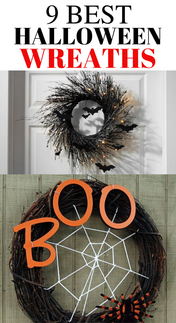9 Spooktacular Halloween Wreaths That Will Wow Your Guests