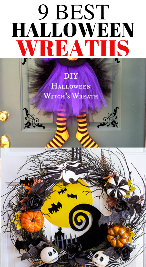 9 Ultimate Halloween wreaths that will wow your guests, best Halloween wreaths, ultimate Halloween wreaths, easy and scary Halloween wreaths #halloween #wreaths #Haloween2019 #halloweendecor #halloweendecorations #spooky #scary #diy #homedecor #halloweencrafts