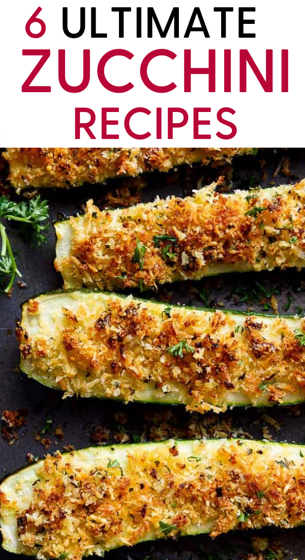6 Ultimate Zucchini recipes that are super-healthy and taste great too. These are the very BEST Zucchini recipes you can try. Healthy Zucchini recipes, baked Zucchini recipes, Easy Zucchini recipes, dinner Zucchini recipes, #zucchini #recipes #zucchinirecipes #healthyrecipes #delicious #easyzucchinirecipes #bakedzucchinirecipes