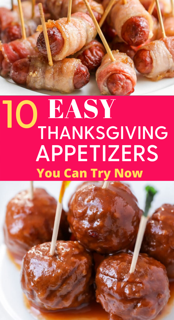 10 Easy Thanksgiving Appetizers You Can Try Now