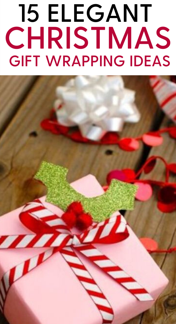 15 Elegant christmas gift wrapping ideas. 15 Elegant Christmas gift ideas that will charm your family and friends. You must definately pin this Christmas gift wrapping idea for later. Best gift wrapping ideas for your Christmas and holiday gifts #gifts #christmas #holidays #xmas #giftideas #wrapping #christmasgifts #christmaspresents #christmashacks #holidaysgifts
