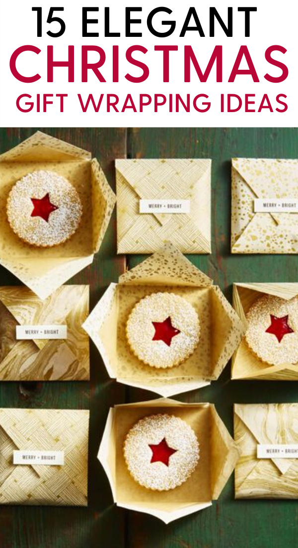 15 Simple, Elegant, creative and unique christmas gift wrapping ideas. 15 Elegant Christmas gift ideas that will charm your family and friends. You must definately pin this Christmas gift wrapping idea for later. Best gift wrapping ideas for your Christmas and holiday gifts #gifts #christmas #holidays #xmas #giftideas #wrapping #christmasgifts #christmaspresents #christmashacks #holidaysgifts