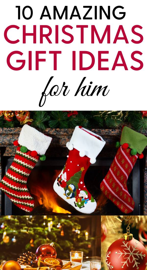 10 Ultimate Christmas Gift Ideas for Him, Husband, Boyfriend and Men. 10 Most amazing Christmas gift ideas for your husband, boyfriend, father, friend, co-worker, men and other males #gifts #giftideas #christmas #christmasgifts #christmasgiftideas #holidaygifts #holidaygiftideas #uniquegiftideas #boyfriend #husband