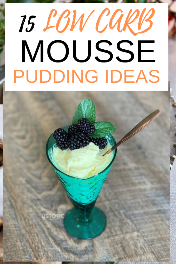 15 Easy Low Carb Mousse Pudding Ideas that taste so magical. 15 Ultimate keto low carb mousse pudding that are easy, low carb, keto, sugar-free, tasty and healthy #keto #lowcarb #recipes #healthy #yummy #ketogenic #weightloss #loseweight #food #yummy