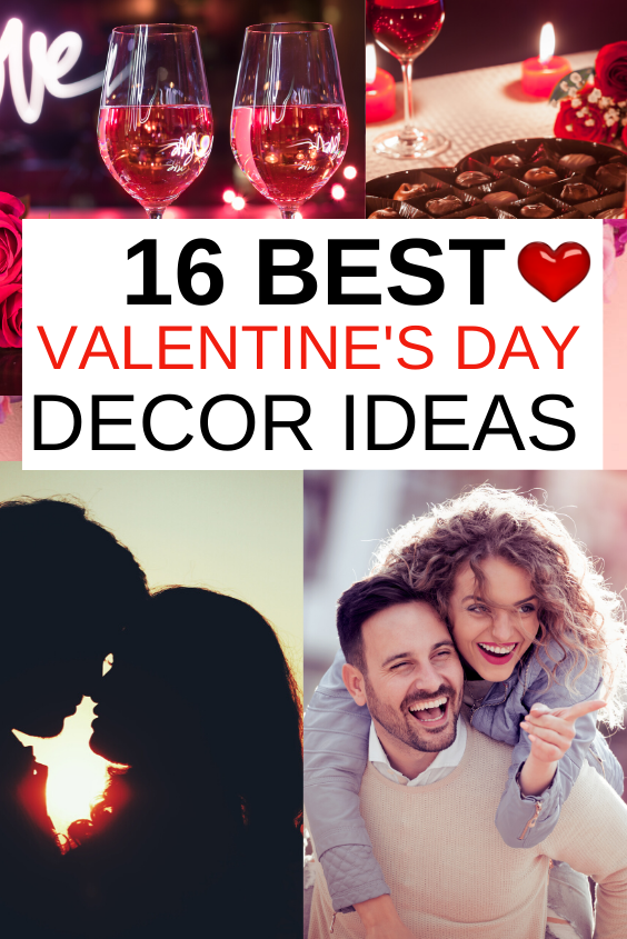 16 Best Valentine's Day Decor Ideas. The ultimate Valentine's Day decoration ideas for your special moments. Romantic, festive, love-filled Valentine's Day decorating ideas for your husband, boyfriend and more #vday #valentinesday #valentineday #homedecor #decor #love #romance