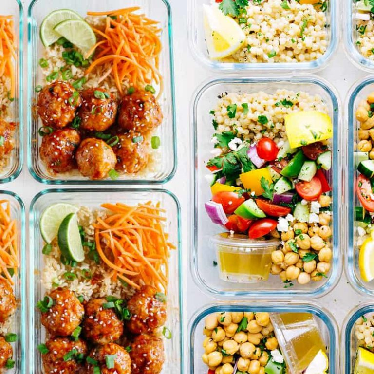 healthy meal prep ideas for families, school and work